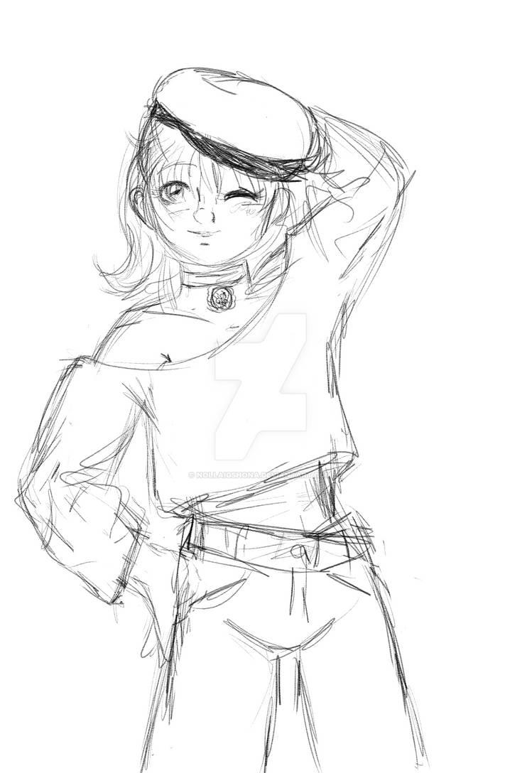 Dana, casual sketch/WIP?