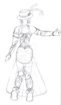 Ruby Peacock - Concept Art - The Dress