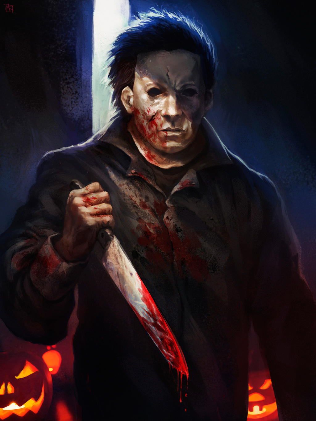 Michael Myers commision by alejowar