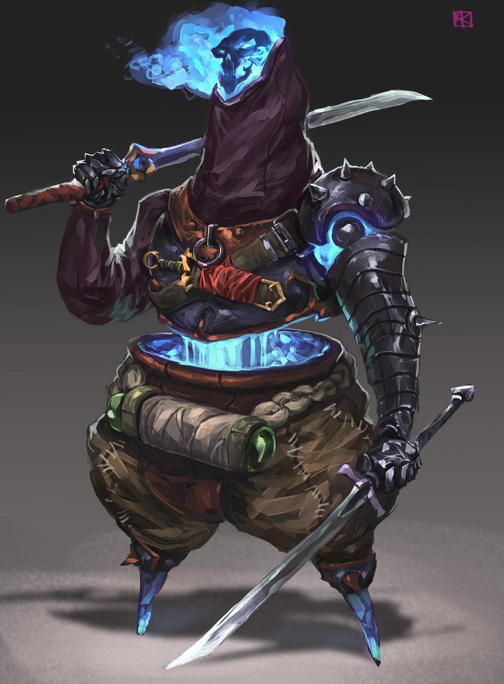 Propane Gas Warrior by alejowar