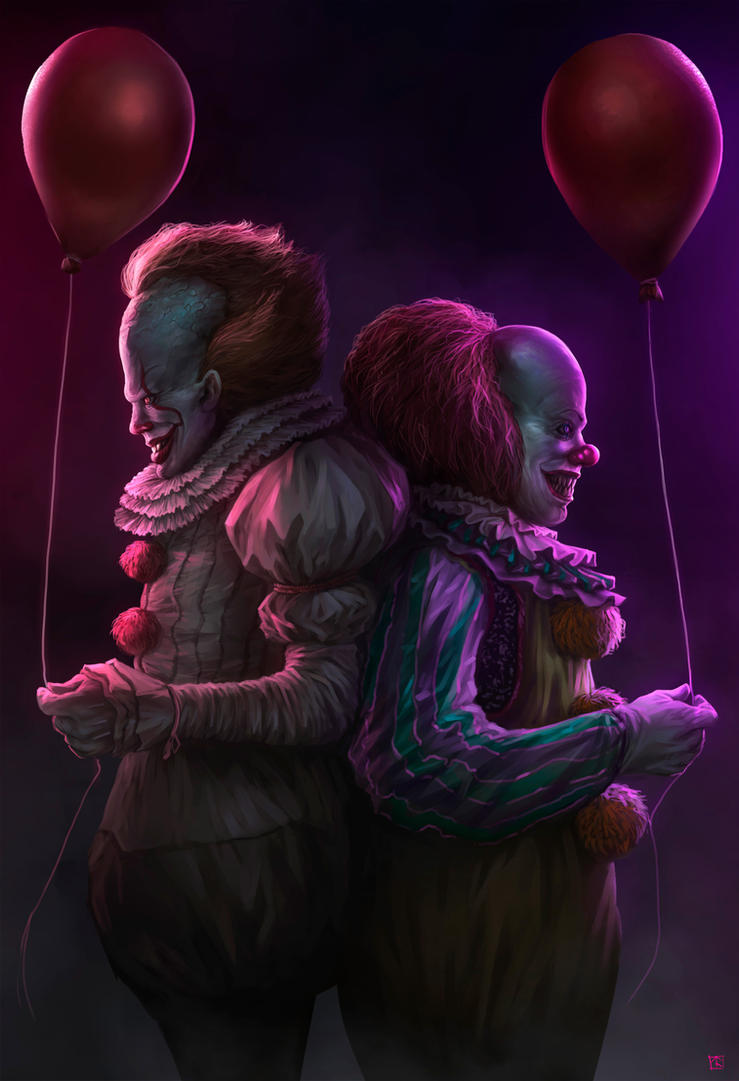 Pennywise Commision by Blackhood-art