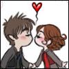 Sparky Chibi's Kiss -BIS- by EternallySparky