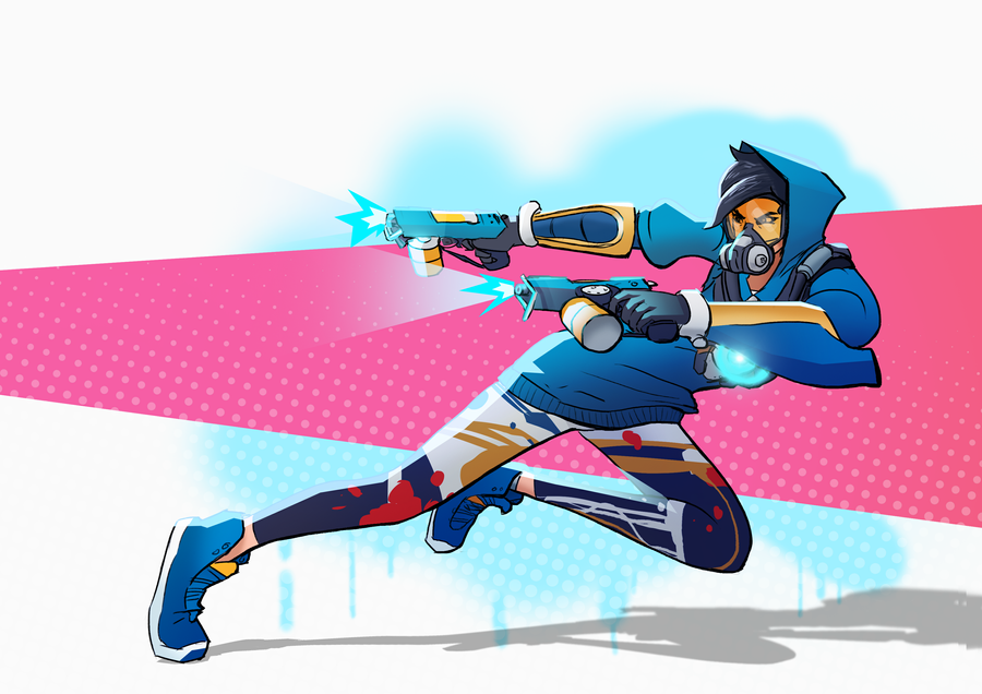 Graffiti Tracer by karidyas