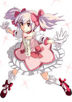 Kaname Madoka by LovableQueen
