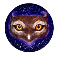 Owly Eyes by asyrrith