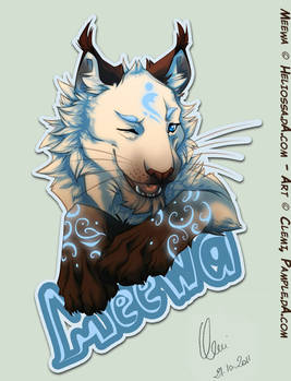 Badge - Meewa