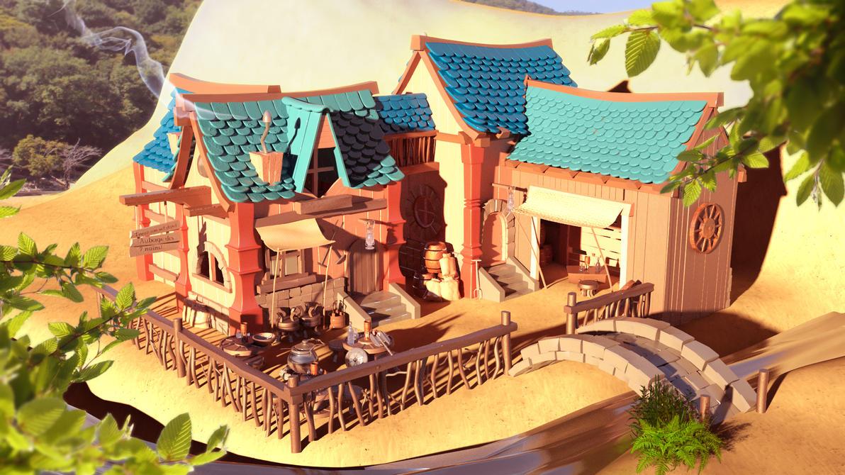 Inn - 3D by Ninozilla