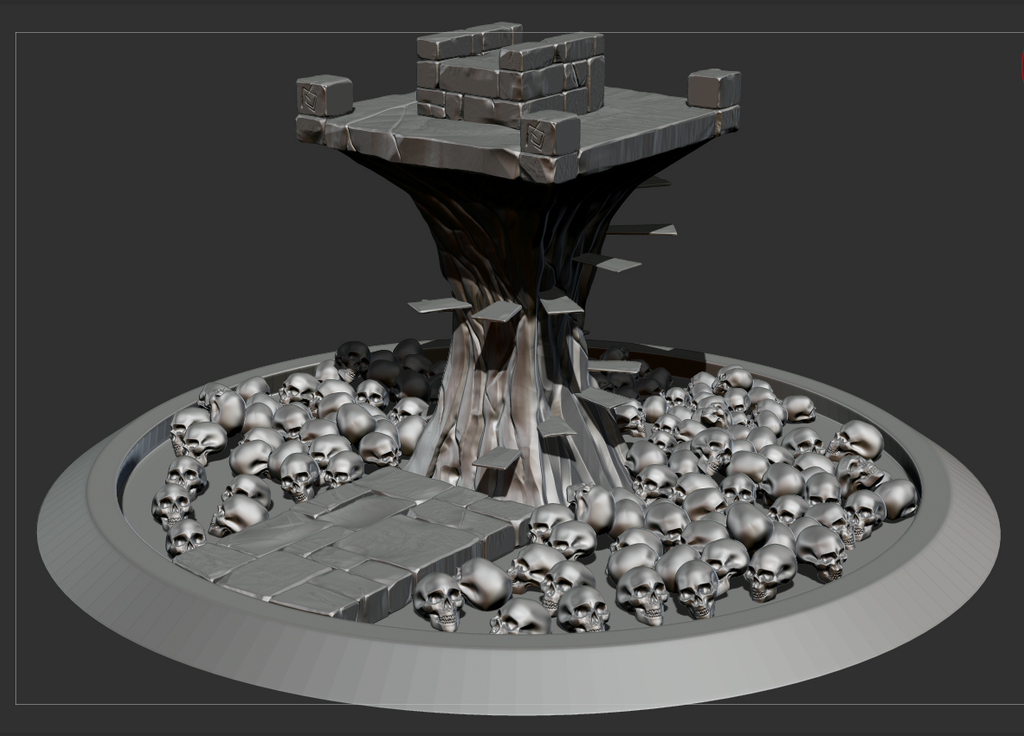 Throne - 3D (not finished) by Ninozilla