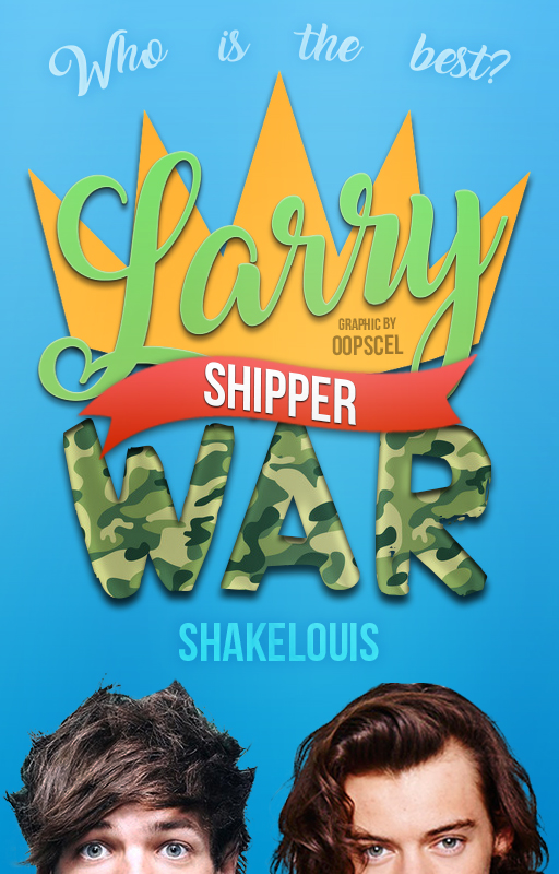 Wattpad Cover #15 | Larry shipper war - ShakeLouis by fashionpic on