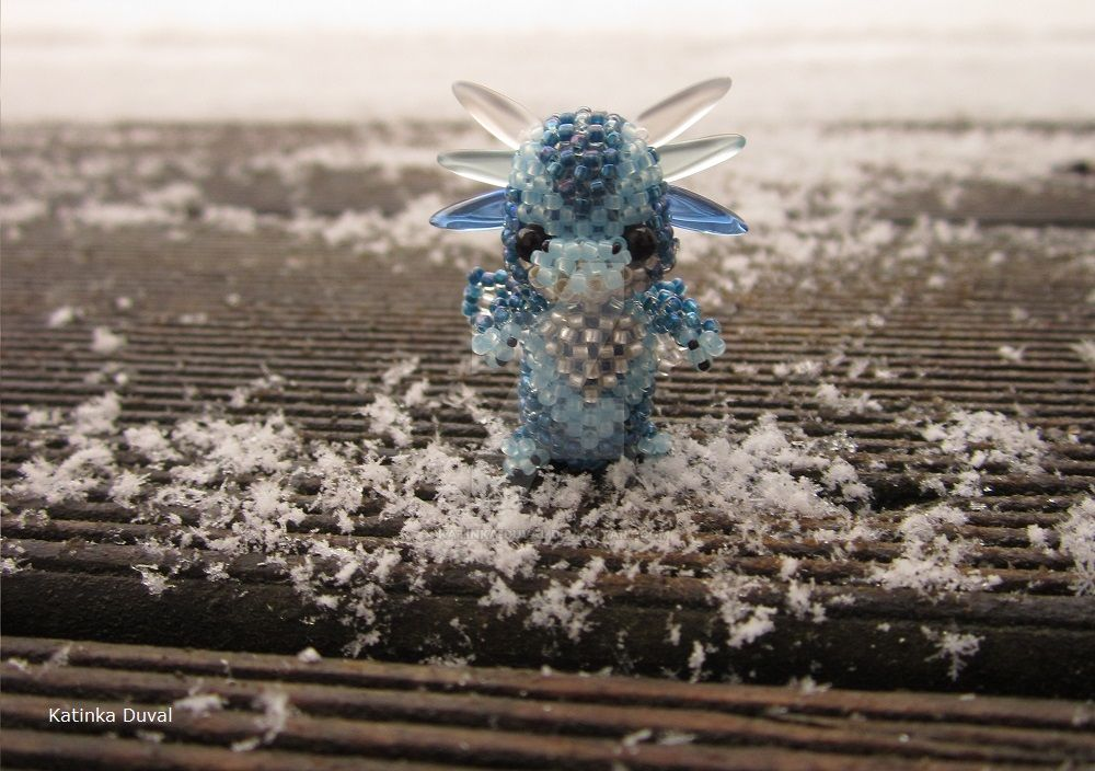 Little Ice Dragon by Katinka-Duval