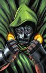 Dr Doom coloured by SPLASH