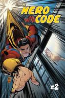 The Hero Code no2 Cover Mockup by jonathan-rector