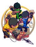 Chibi Mortal Kombat Ninjas