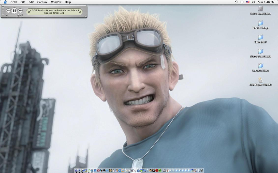 Cid Highwind Desktop by LaCidiana