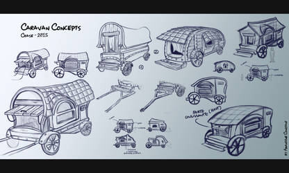 CHASE - Caravan Concepts by eimiko-chan