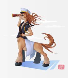 Character Design Challenge - Centaur by eimiko-chan