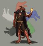 Dragonborn Sorcerer of Tiamat