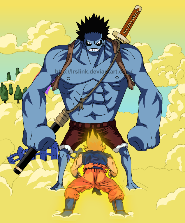 Goku X Luffy By Lrslink On DeviantArt