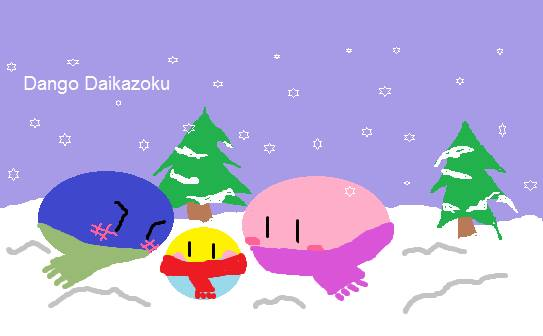 Drawing contest 10! Ready for winter! ( '' ) by DangoDaikazoku1