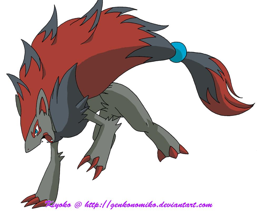 Pokemon Zoroark By GenkoNoMiko On DeviantArt