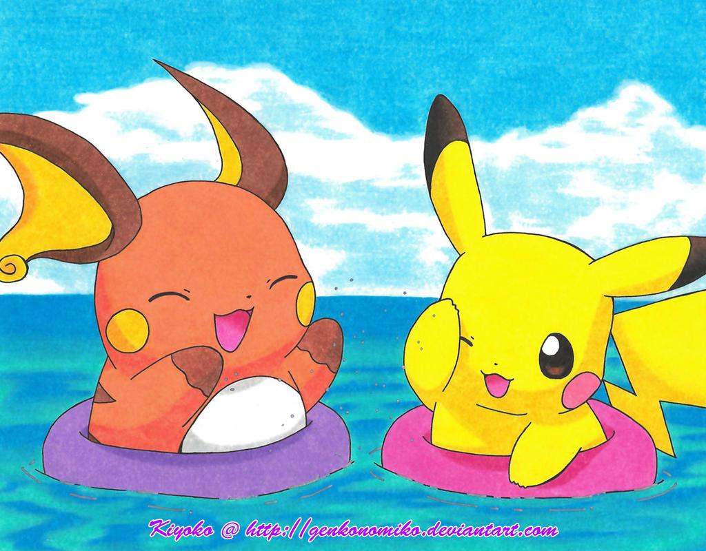 Raichu&quot- #Pokemon minimal wallpaper by MapleRose on deviantART ...