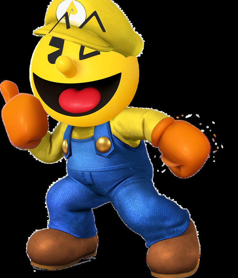 Pac-Mario by HawkCrysis