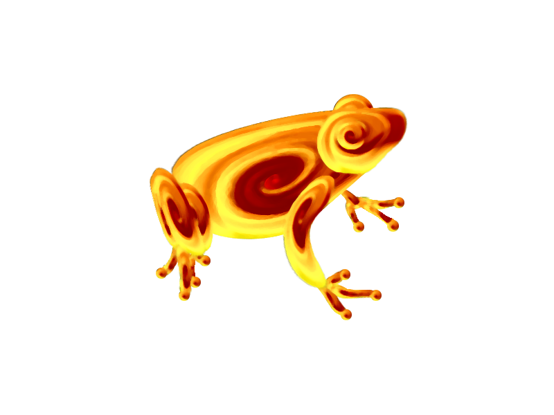 Spiral Frog by HawkCrysis