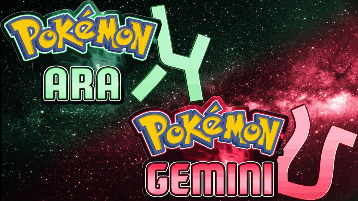 Pokemon Ara and Gemini by HawkCrysis