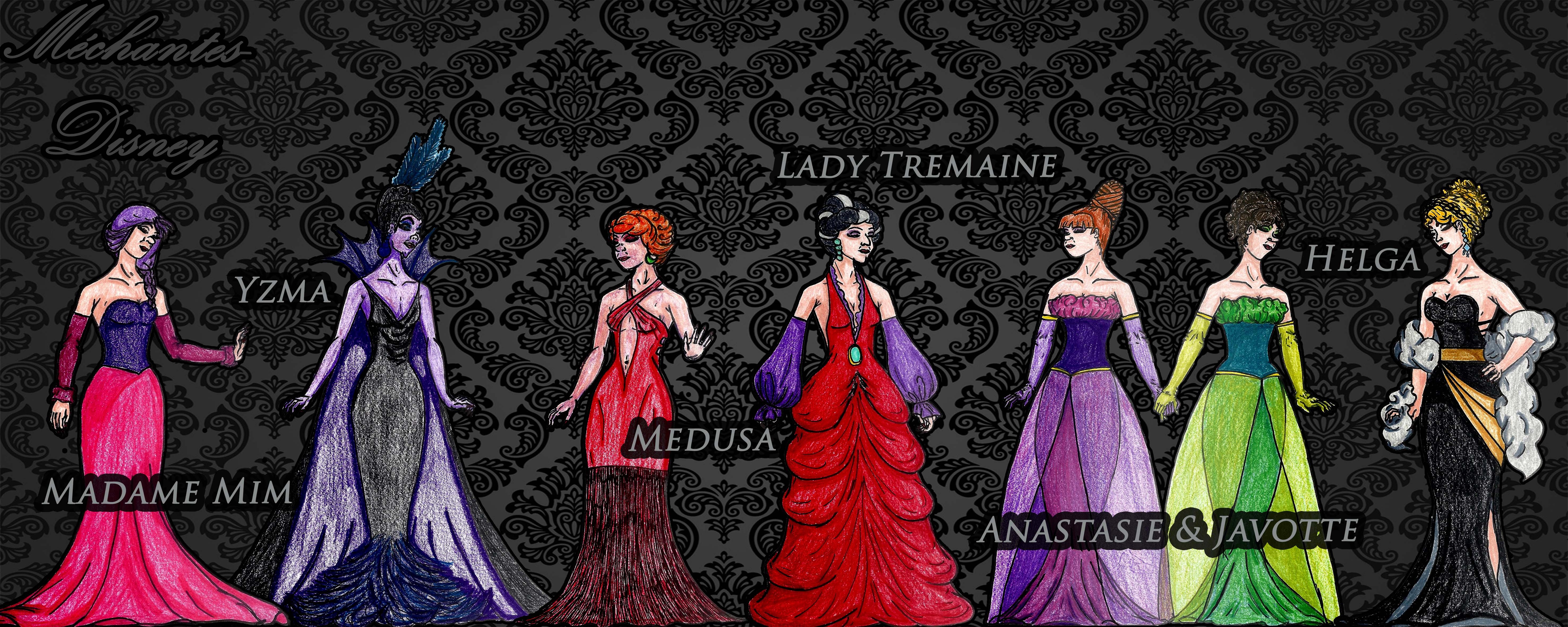 disneys villains designer collection by tiagostories on