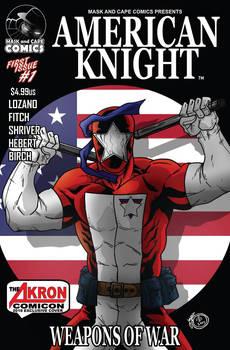 Rick Lozano's American Knight Alternate cover.