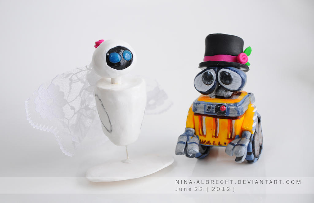 Eve and Walle by NinaHoerz on DeviantArt