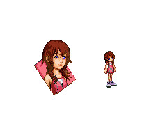Kingdom Hearts II Kairi WIP by dragonwing71