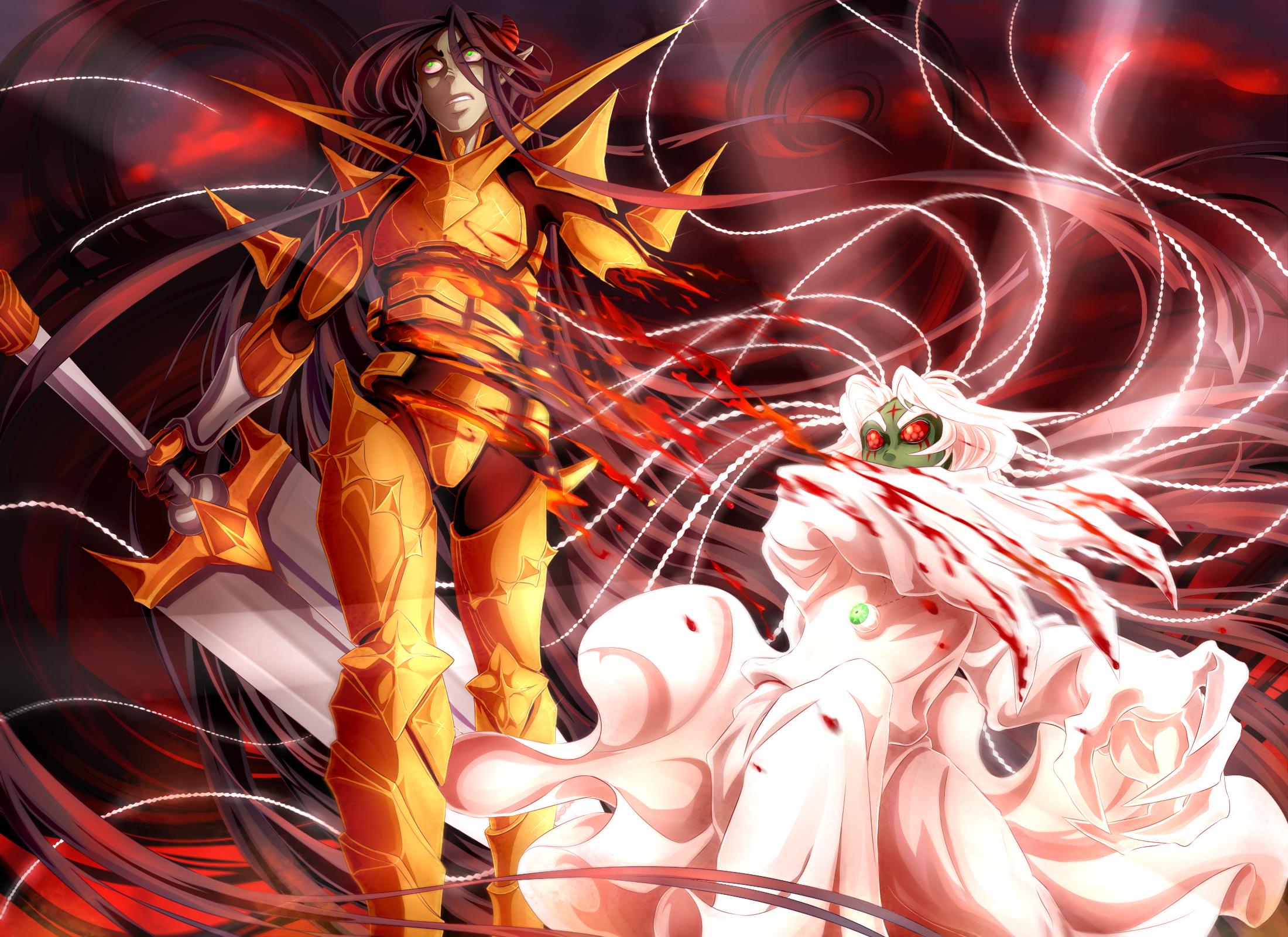 Immortal battle by KoTana-Poltergeist