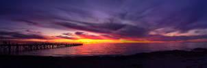 Sunset over Semaphore