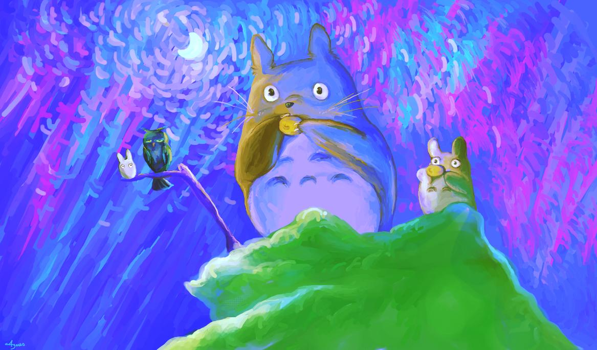 My Neighbour Totoro by AgnesKilljoy