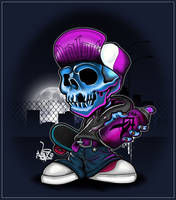 Skull Night by ValueDesignz
