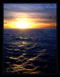 Biscay Sunset