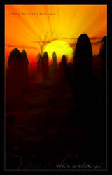 The Sun Sets Behind Your Grave