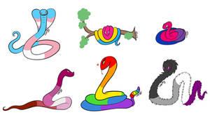 Gay Pride Snakes