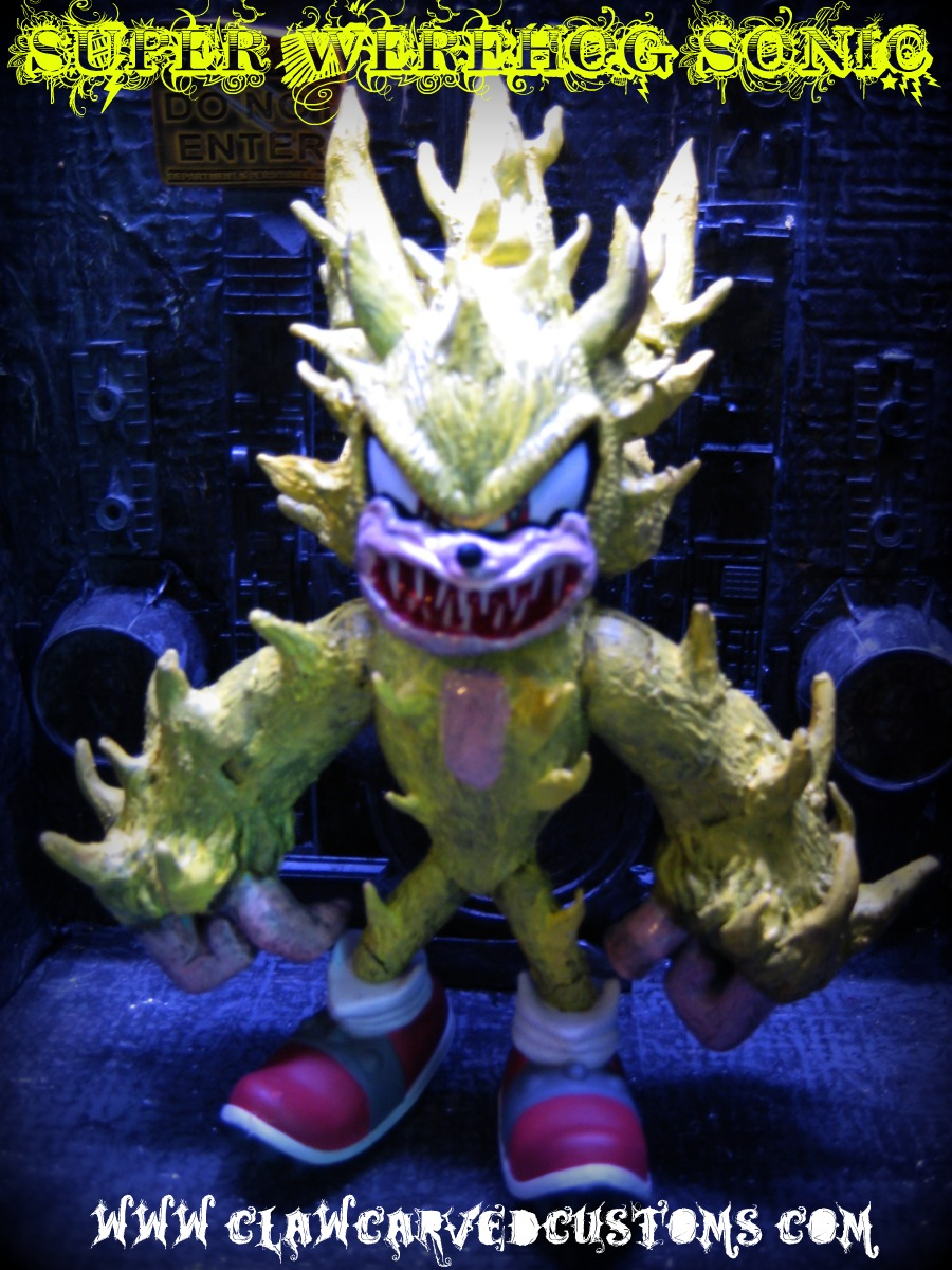The gallery for --> Super Sonic The Werehog Toy