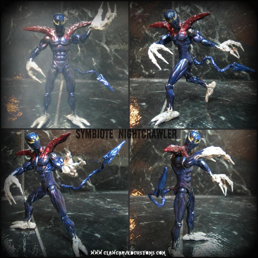Symbiote Nightcrawler Figure by symbiote-x on DeviantArt