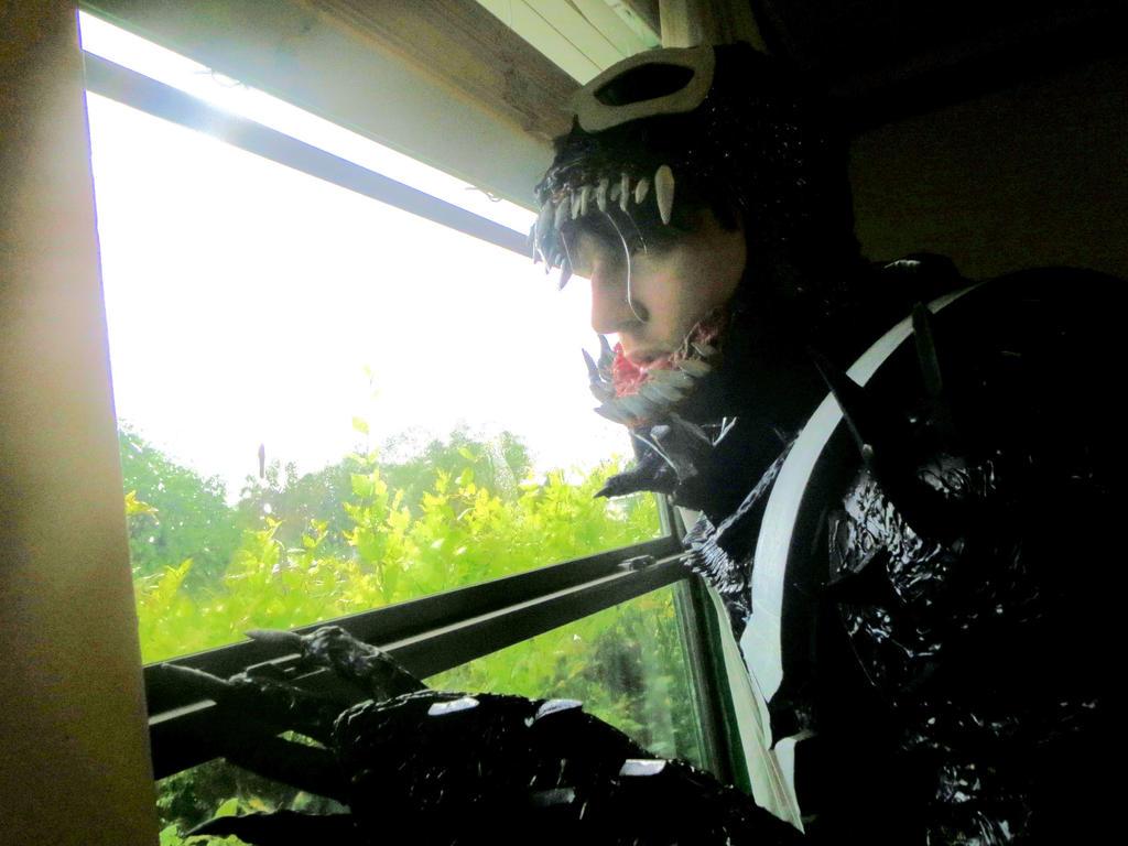 AGENT VENOM COSTUME by symbiote-x