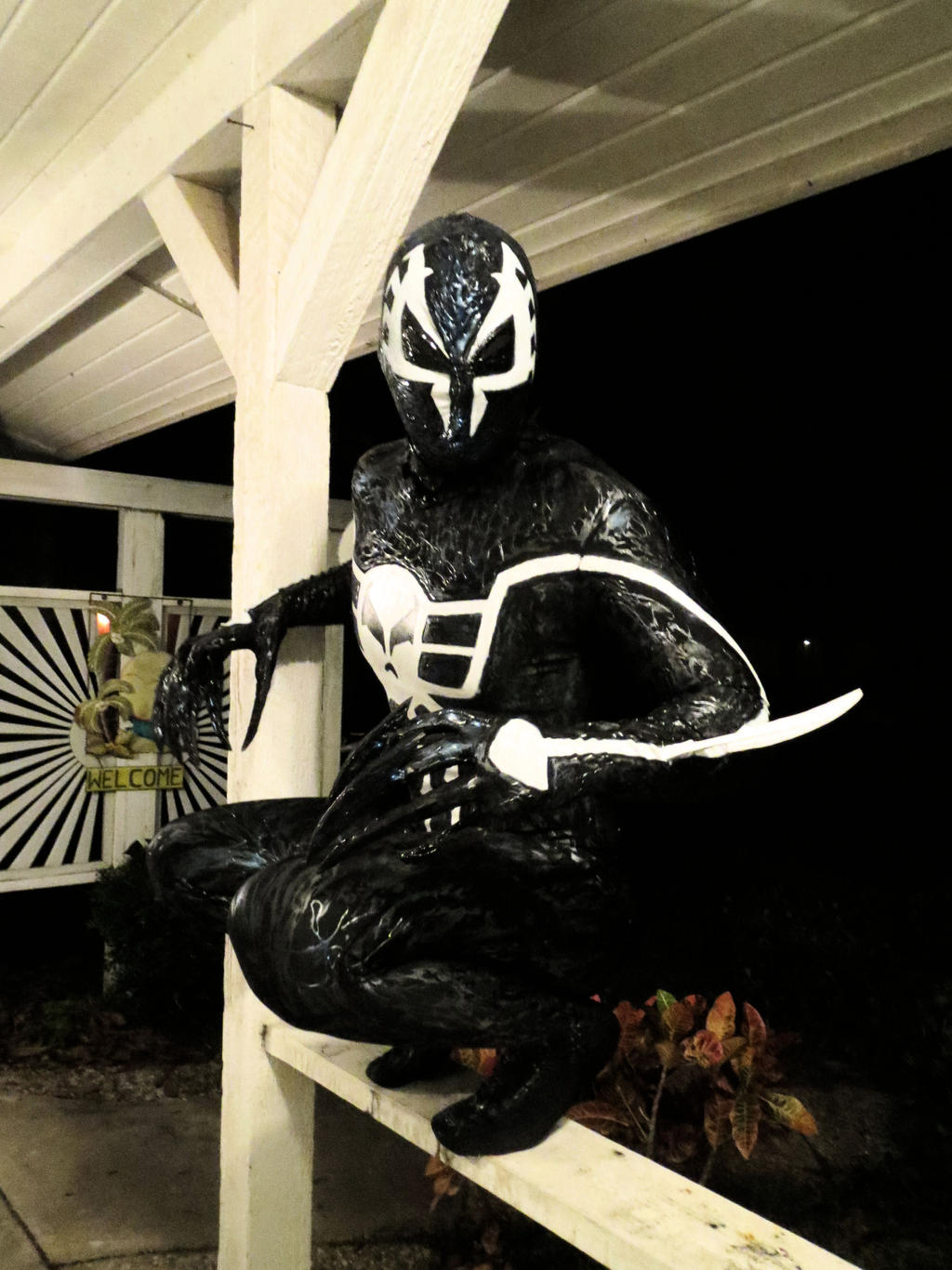 SYMBIOTE SPIDERMAN 2099 COSTUME by symbiote-x