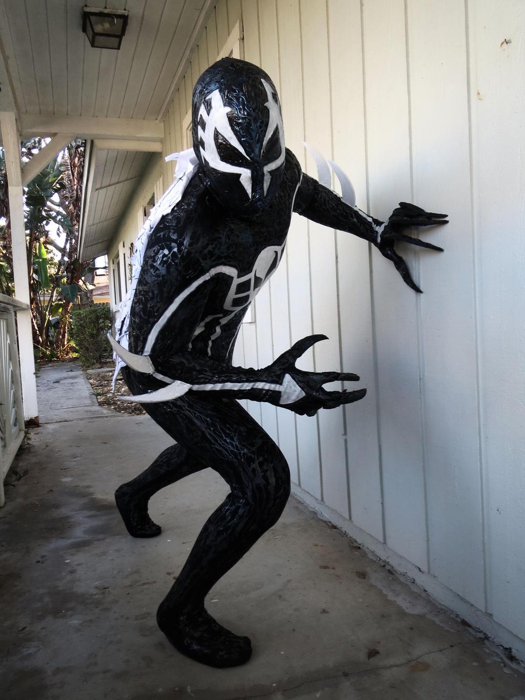 symbiote spiderman 2099 costume by symbiotex on deviantart