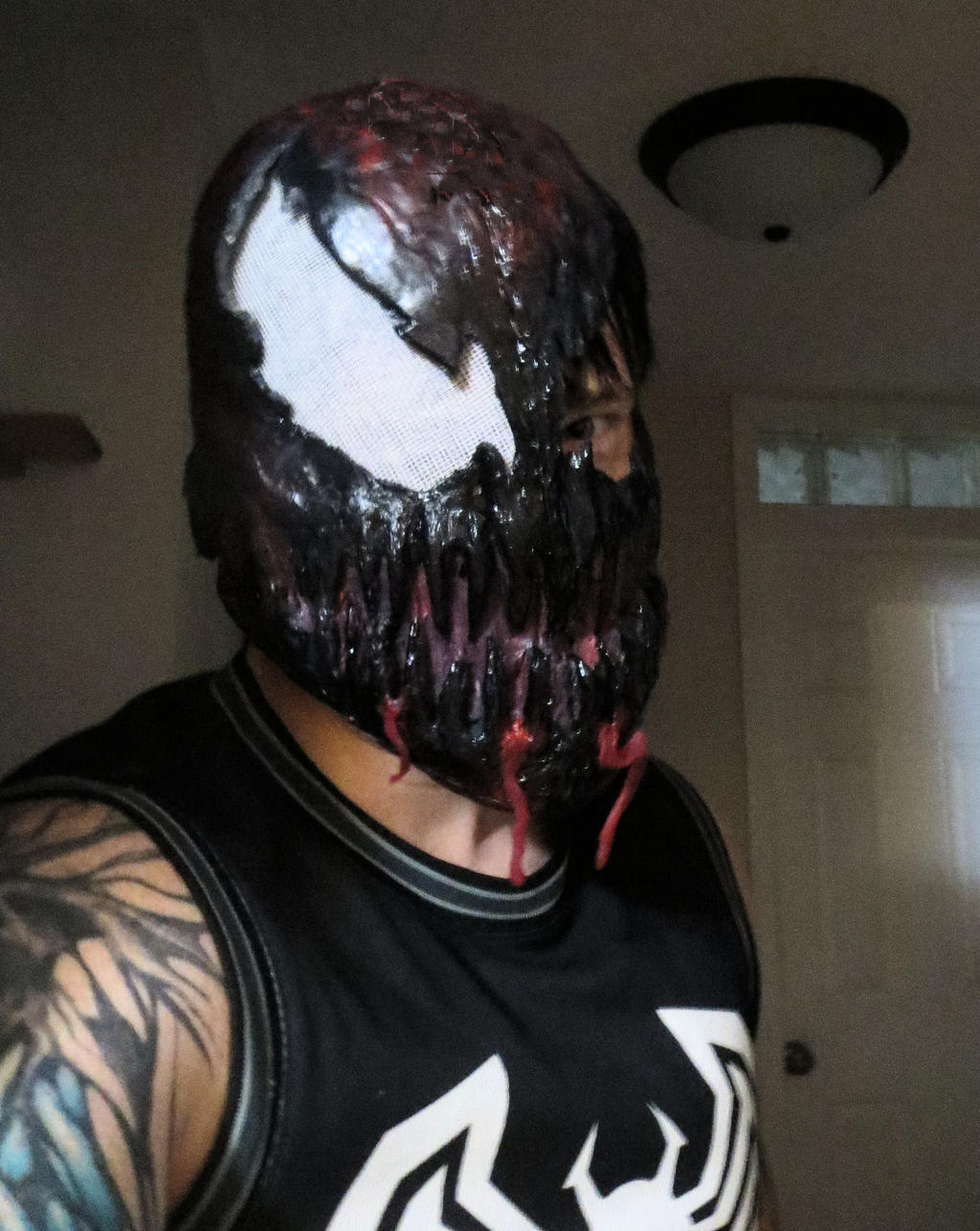 MY COMPLETED CLASSIC CARNAGE MASK by symbiote-x on DeviantArt