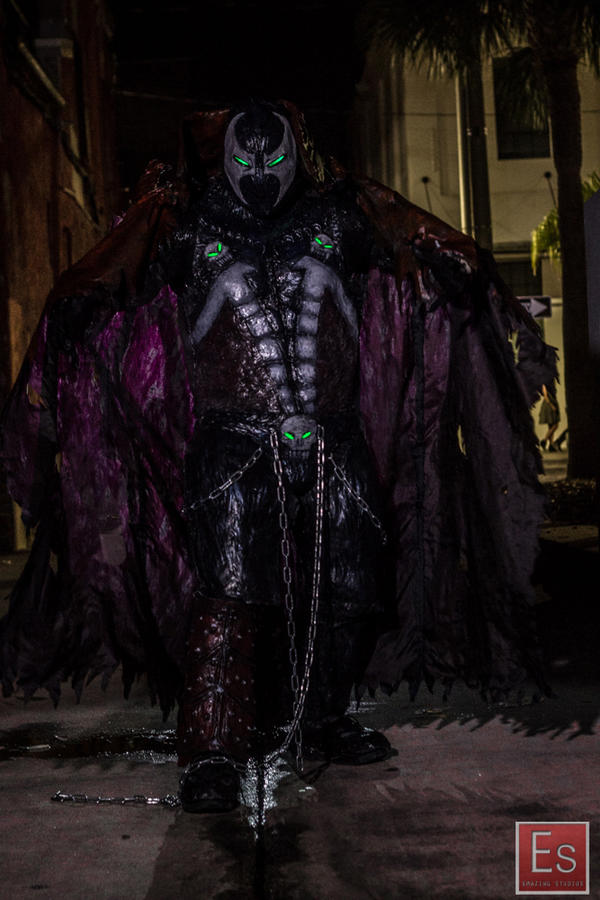 Spawn cosplay alley photoshoot  by symbiote-x