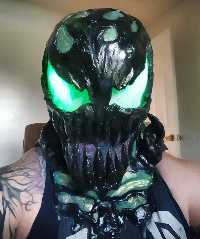 Custom carnage mask! by symbiote-x on DeviantArt