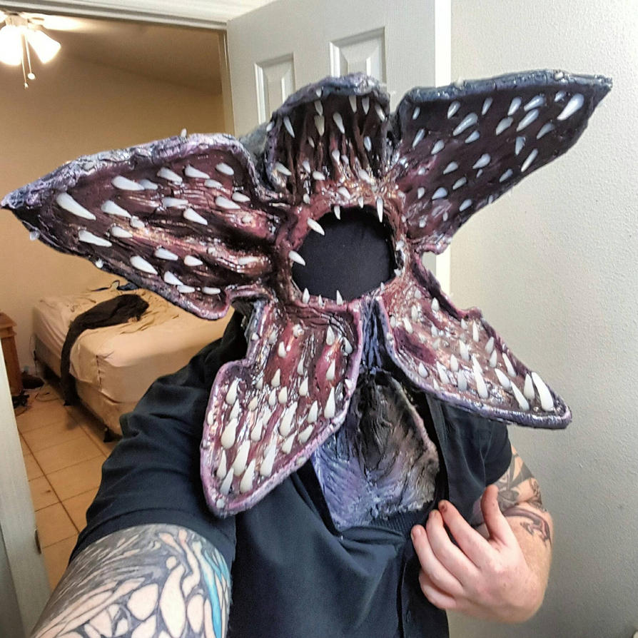 Stranger things demogorgon mask! by symbiote-x