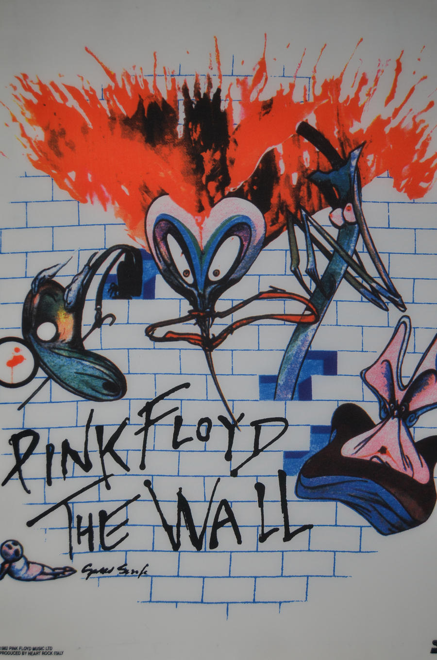pink floyd the wall by dinkok on deviantart