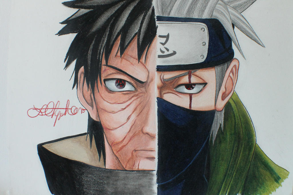 Obito x Kakashi by ukklee